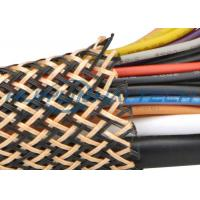 Buy cheap PET Insulated Expandable Braided Sleeving For Flame Retardant Flexo Cable product