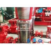 Buy cheap Stainless Steel 40GPM Fire Jockey Pump For Office Buildings / Supermarkets product
