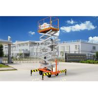 Buy cheap Low Noise Mobile Aerial Work Platform One Man Lift For Indoor / Outdoor Construction product