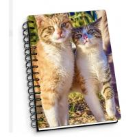 Buy cheap Customize A4 A5 A6 Cover 3d Lenticular Notebook With Spiral For School / Office Supplies from wholesalers