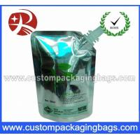 China Plastic Juice Stand Up Pouches With Spout , Food Grade heat seal bags on sale