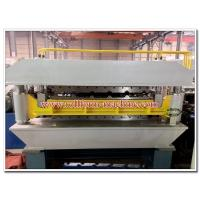 Buy cheap Double Deck Metal Roof & Wall Panels Roll Forming Line with Automatic Electric PLC Control System product