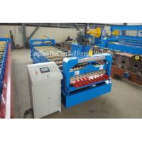 Buy cheap 1.25M Width Metal Profiling Wall Panel Roll Forming Machine With Hydraulic Precut product