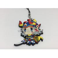 Buy cheap Anime rubber pendants custom cartoon figures phone pendants supply for promotional gifts product
