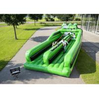 Buy cheap Two Lanes Inflatable Bungee Run , Inflatable Amusement Park For Children from wholesalers
