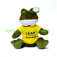 "Buy cheap 7"" Plush Frog from wholesalers"
