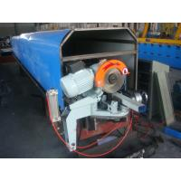 Buy cheap Down pipe Roll Forming Machine Controlled by PLC Applied in Rain Water Storage Solution product