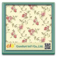 Buy cheap Resistant to wear Modern Decorative Wallpaper , Living Room PVC Wallpapers product