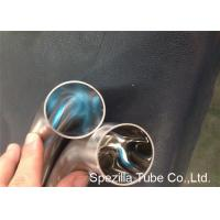 Buy cheap OD / ID Polished Short 45 Degree Elbow TP304 TP316L Stainless Steel Weld Fittings product