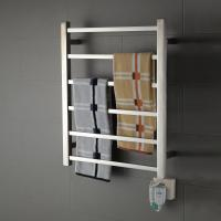 Buy cheap 6 Bar square stainless steel wall mounted economical and practical safety heated towel rail from wholesalers