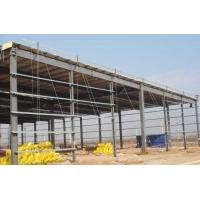 Prefab Steel Workshop Buildings Heat Resistance Prepainted With Single Layer Floors