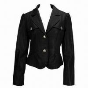 China Lady's Jacket, Made of 100% PU on sale