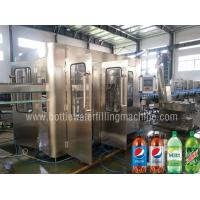 Buy cheap Carbonated Drink Filling Machine, Soft Drink , Sparkling Water Bottling Plant from wholesalers