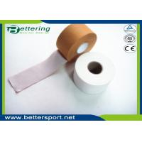 Buy cheap 5cm White colour Latex free zinc oxide athletic rigid strapping tape viscose sports tape to limit joint movement product