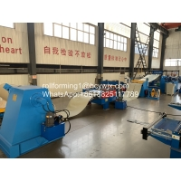 Buy cheap 380V 50Hz Metal Plate Cutting Machine Uncoiling Slitting Cutting Production Line product