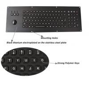 Buy cheap Metal Panel Mount IK09 Waterproof Computer Keyboard product