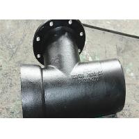 Buy cheap Precision Ductile Iron Mechanical Joint Fittings Round Casting For Water Supply from wholesalers