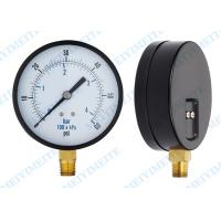 """Cheap 4 Inch General pressure gauge with 1/4"""" connector and two screw in the case wholesale"""