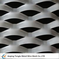 Buy cheap Expanded Aluminum /Aluminum Expanded Metal Mesh|In Flat and Raised Forms For Curtain Wall product