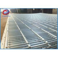 Buy cheap Customized Security 358 Galvanized Welded Wire Mesh Fence Panels For Airport / Prison product