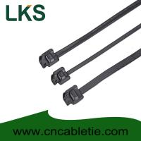 Buy cheap LKS-610S PPA Coated Releasable Stainless Steel Cable Ties product