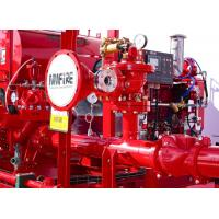 Buy cheap Ductile Cast Iron Diesel Fire Pump Package 100PSI UL/FM/NFPA20 Listed product
