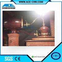 Buy cheap Vodka Distillery Equipment For Sale & Red Copper Small Size Whiskey Distilling Equipment product