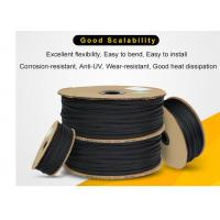Buy cheap Wear Resistant PET Expandable Braided Sleeving High Density For Cable Protection product