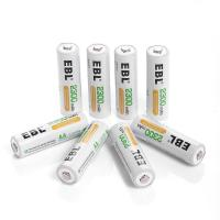 Buy cheap Deep Cycle Rechargeable AA Batteries 2300mAh Ni-MH , 4 Packs product