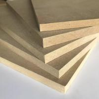Buy cheap Thickness 1.8 - 30mm Melamine Faced MDF Board 8% - 14% Moisture Content product