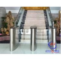 Buy cheap Fitness Club Barcode Check In Speed Gate Turnstile , Office Swing Turnstile product
