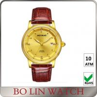 Buy cheap Stainless Steel Case 18k Solid Gold Watches For Ladies Adjustable Size product