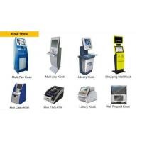 Buy cheap Professional Solution Supplier Self Service Kiosk Terminal Machine Used For Bank, Hotel, Traffic, Medical from wholesalers