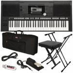Buy cheap Yamaha PSR-S970 Arranger Workstation Keyboard STAGE ESSENTIALS BUNDLE product