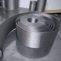 China Stainless Steel Reverse Dutch Weave Filter Cloth Belt Wire Mesh 316L For Oil And Mining on sale