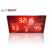 Buy cheap Remote Controller With Simple Function and Ultra Thin Led electronic Basketball Scoreboard product