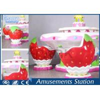Buy cheap Kids Indoor Playground Equipment Amusement Game Machines Strawberry Sand Table product