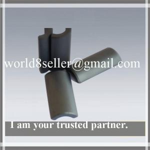 Buy cheap Ferrite Magnets sintered hard ferrite arc segment anisotropic magnet product