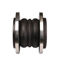 Buy cheap double sphere flexible joint SS304 flange rubber expansion joint product