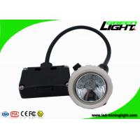 Buy cheap 5.2Ah Black Safety Underground Mining Cap Lights Rechargeable Explosion Proof product