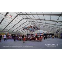 Buy cheap 5000 Peope Giant Clear Span Tent 50 by 70 Meter with Transparent PVC Roof Cover product