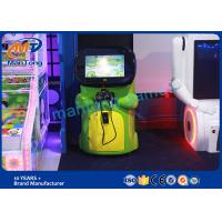 Buy cheap Green Virtual Reality Equipment Electric  Kids Vr Coin Game Machine product