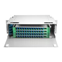 Buy cheap Outdoor 48 Port ODF Optical Distribution Frame IP66 Mild Steel Fiber Optic Patch Panel product