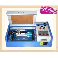 Buy cheap 40W CO2 Laser Engraving Cutting Machine , Mini Desktop Laser Engraver OEM Service product