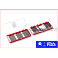 Buy cheap Red 15CT Needle Disposal Container  with Transparent Lid for Keeping Needles product
