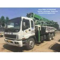 Buy cheap 34m Boom Used Concrete Pump Truck , Germany Schwing Concrete Pump Truck product