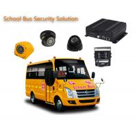 Buy cheap 4 Channels 1080P / 720P 4 Camera Car DVR For School Buses , Mobile DVR Systems product