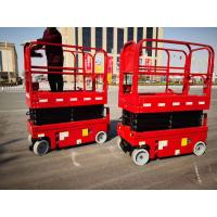 Buy cheap Self Propelled Compact 320kg Mobile Aerial Work Platform product