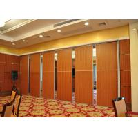 Buy cheap Aluminum Fabric Acoustic Room Dividers For Meeting Room , Conference Room product