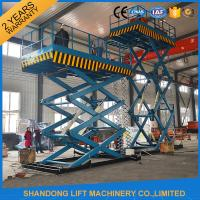 Buy cheap 2T 7m Portable Lift Hydraulic Lift Scissor Lift Table with CE product